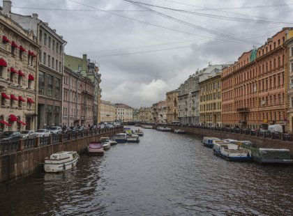 Backroads of Russia: St Petersburg - Moscow