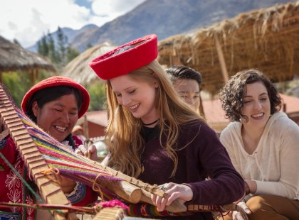 Machu Picchu Explorer - Ccaccaccollo Community and Women's Weaving Co-op visit