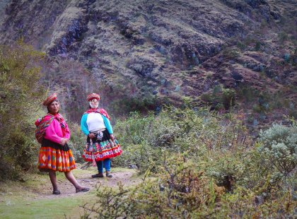 The Lares Trek with One-Day Inca Trail