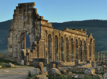 Spain, Portugal, and Morocco Adventure - Volubilis Guided Tour