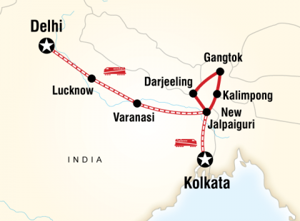 Northeast India & Darjeeling by Rail