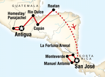 Volcano Adventure – Antigua to San José