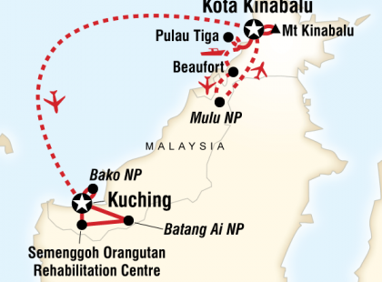 Borneo Encompassed
