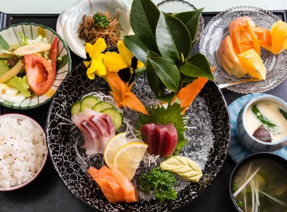 A reason to visit Japan unto itself, taste the subtle fresh flavors of traditional Japanese cuisine prepared by our hosts at authentic country inns along our journey.