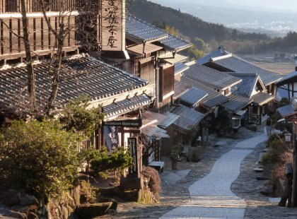 Walk the Nakasendo Trail over three easy days, passing through enchanting rural villages that once served as a major trading route between Kyoto and Tokyo.