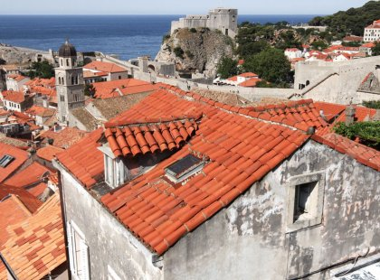 Don't miss the opportunity to walk along Dubrovnik's remarkably well-preserved medieval city walls!
