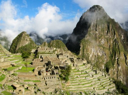 The incomparable Machu Picchu, the crowning glory of the Incas and the archaeological wonder of all South America