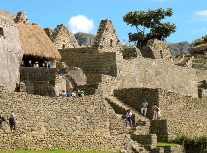 When Machu Picchu was built some 500 years ago, the Inca had no iron, no steel, and no wheels.