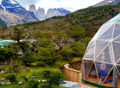 Our retreat for the week is in the heart of Torres del Paine National Park.