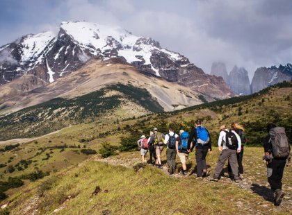 A hiker's dream, Torres del Paine provides some of the best treks in the world.
