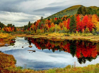New Hampshire's White Mountains are home to some of the most beautiful scenery in the Northeast.