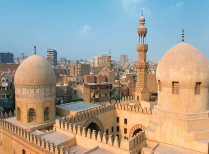 Experience the hustle and bustle of Egypt's capital, Cairo