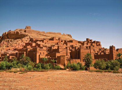 Aia Benhaddou kasbah fortified village, Morocco