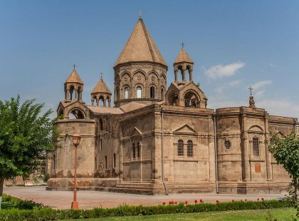 Visit the Echmiadzin cathedral in Armenia