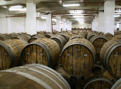 Visit an Armenian brandy factory