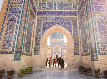 Explore Samarkand in Uzbekistan with Intrepid Travel