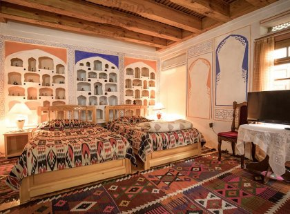 Accommodation in Bukhara, Uzbekistan with Intrepid Travel