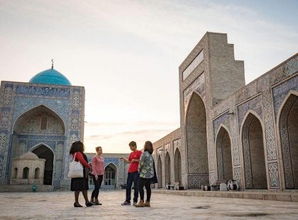 Experience Bukhara Uzbekistan with Intrepid Travel