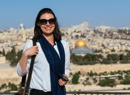 Visit the sights of Jerusalem, Israel