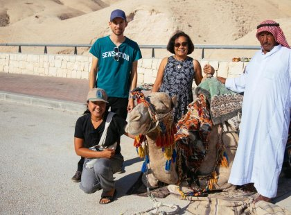 Encounter Bedouins as you travel through Israel