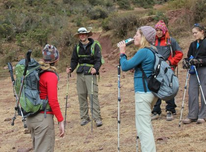 Climb the Inca trail with an experienced guide