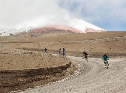 Cycling in Cotopaxi, Ecuador